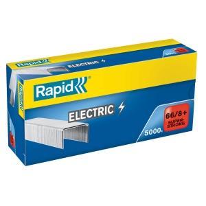Rapid 66/8+ SUPERSTRONG elektromos tűzőkapocs, horganyzott